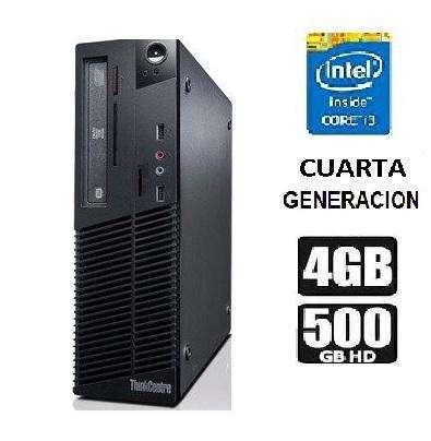 Cpu Core I3 4ta Cuarta Gene. 4gb/500 Gb Lenovo/SOMOS TIENDA MASTER TEC 1.0