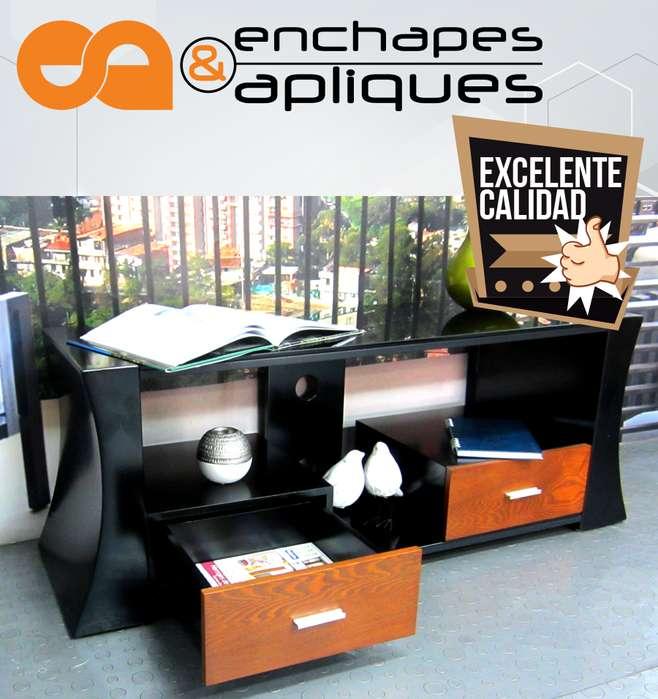 Centro entretenimiento mesa mueble TV cel: 3164498741