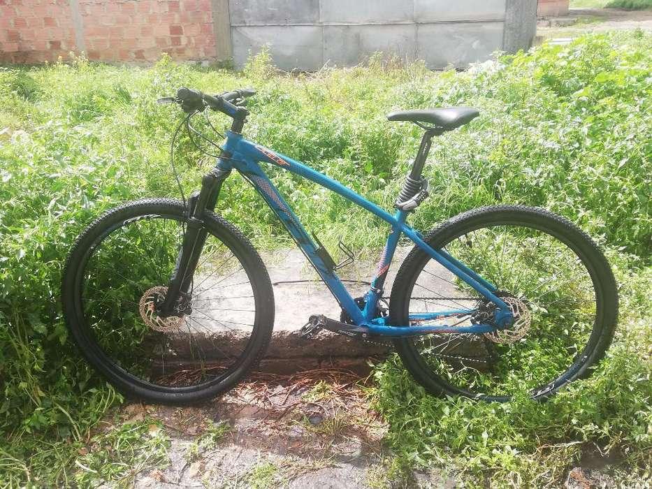 Vendo Bicicleta Tipo Montaña