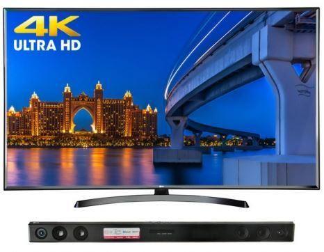 "TV LG 65UK6350 SMART 4K HDR BLUETOOTH 65""  SOUND BAR"