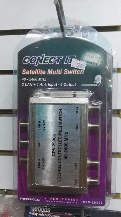 Multi Switch Coaxial Tv Cable Satelite