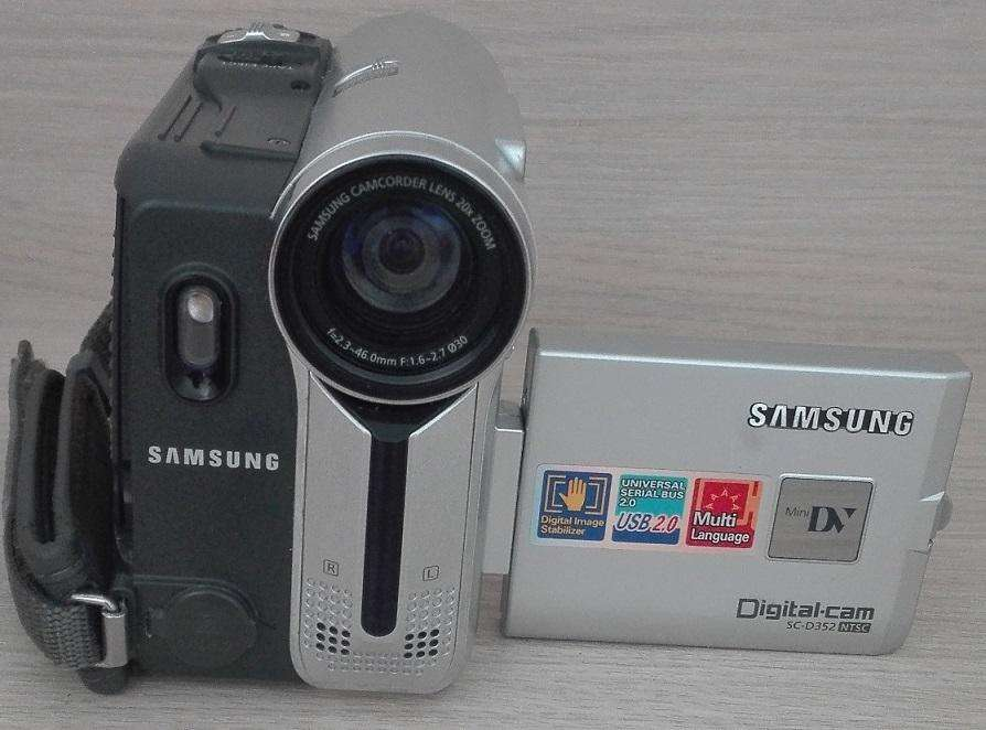 Video Cámara Samsung Sc-d352