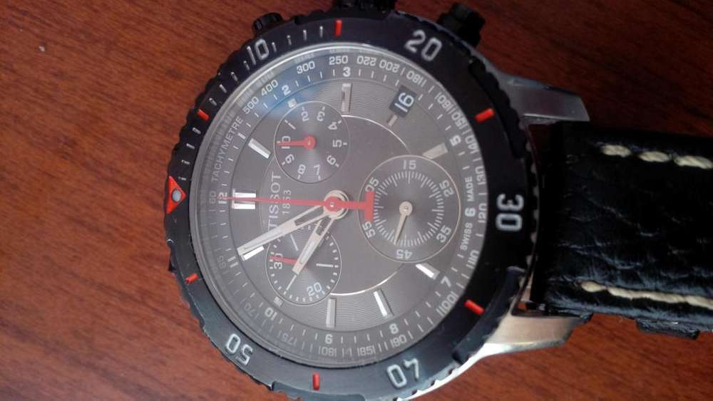 reloj Tissot suizo original deportivo