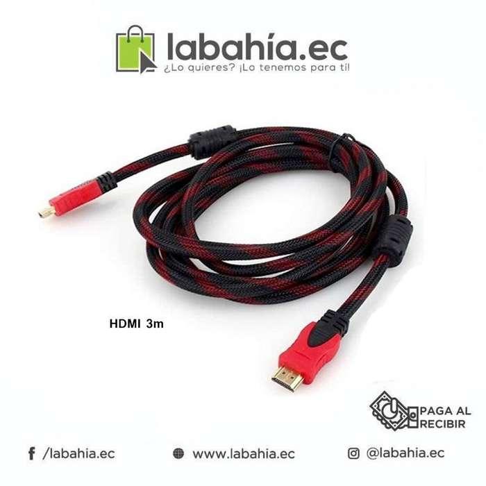 Cable Hdmi 3 Metros Nuevo