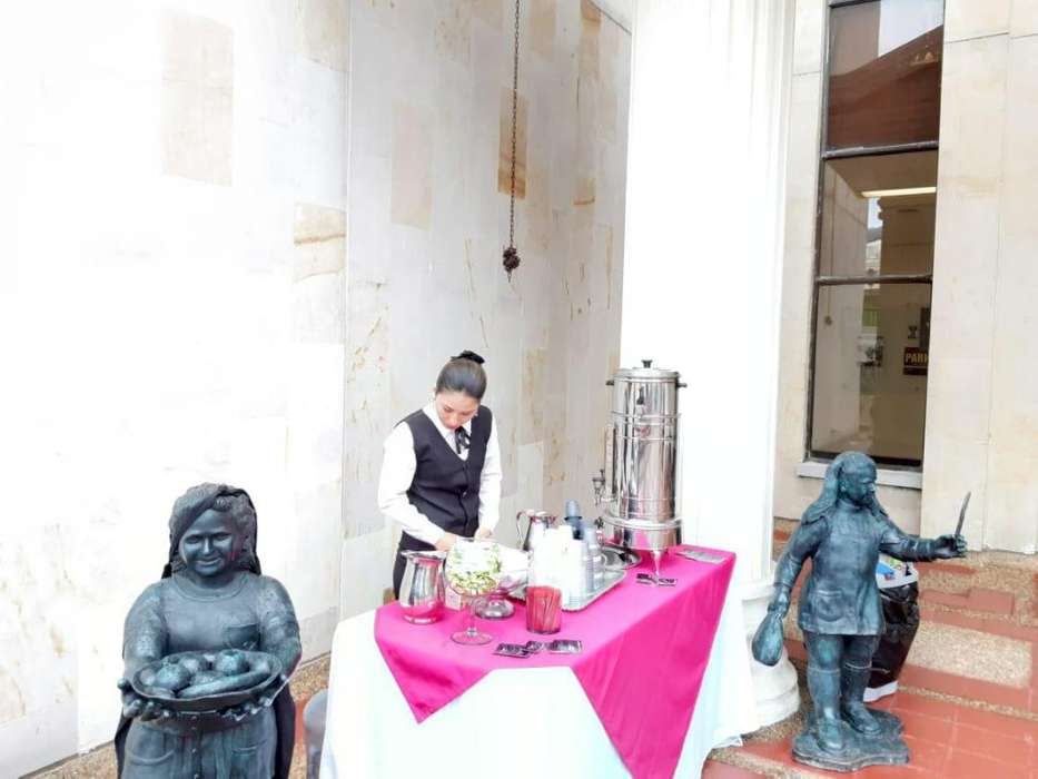 STAND DE CAFÉ PARA REUNIONES EMPRESARIALES