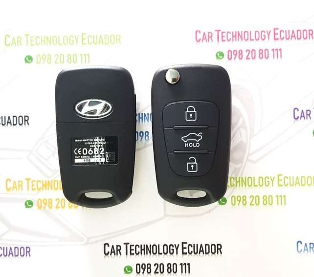 Carcasa Llave Control Hyundai Grand I10 Kia Sorento Sportage 3 Botones