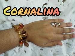 Pulseras con Piedras de Cornalina