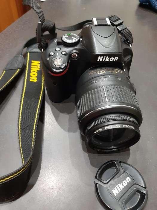 Camara Nikon D5100 Lente 18-55 Kit