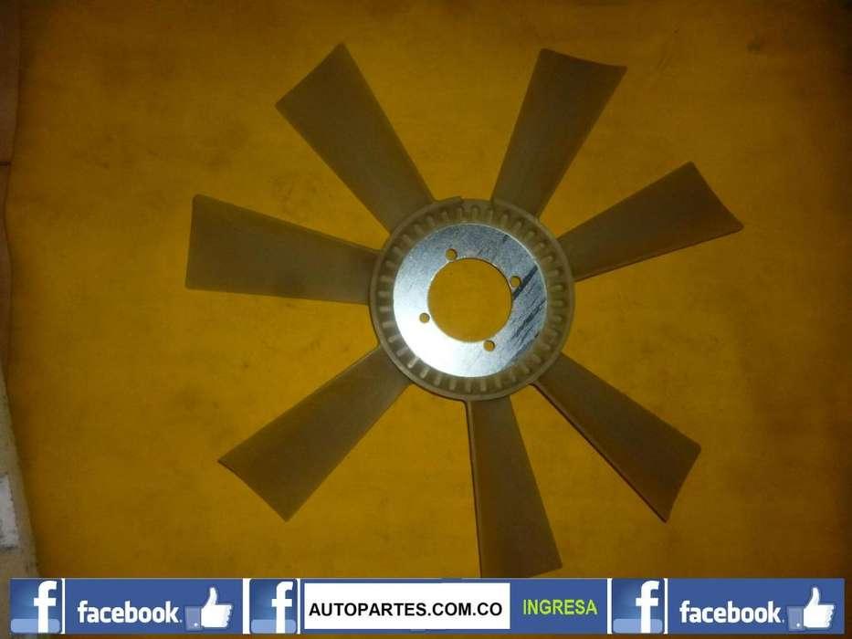 Ventilador radiador motor <strong>chevrolet</strong> KODIAK, C70, B60 inyeccion 1990 1993 CELULAR: 3108848841