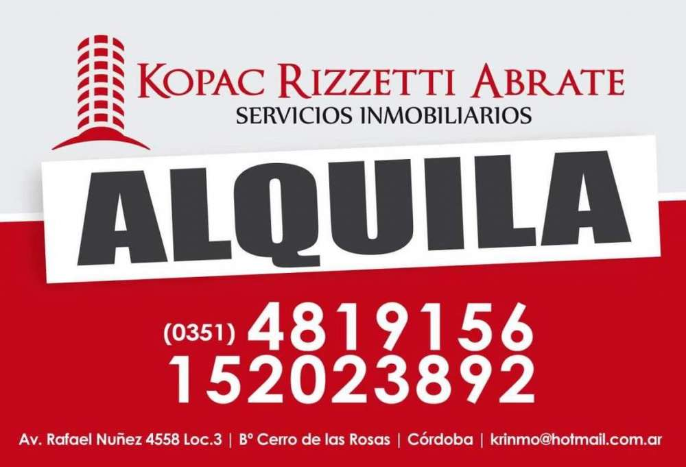 NVO. POETA LUGONES (OROZCO 3200) - ALQUILER COCHERA.