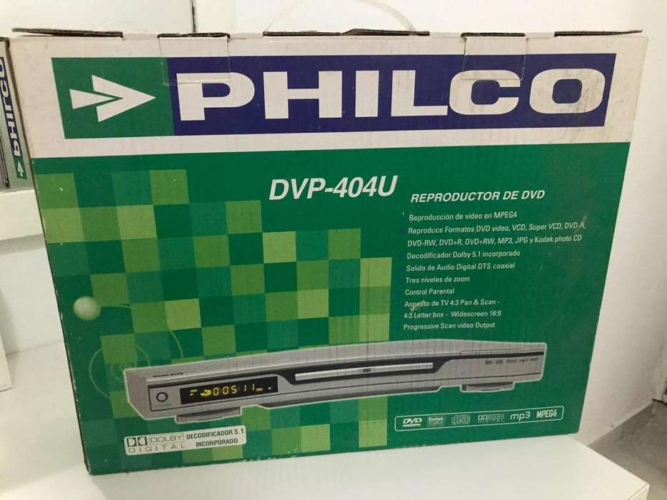 Reproductor de Dvd PHILCO