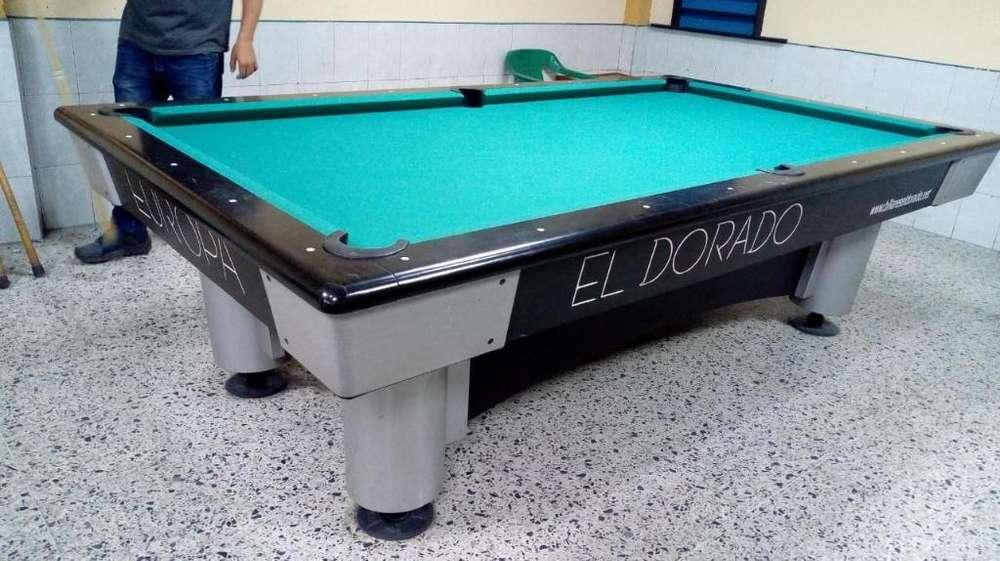 Mesa de Billar Pool El Dorado