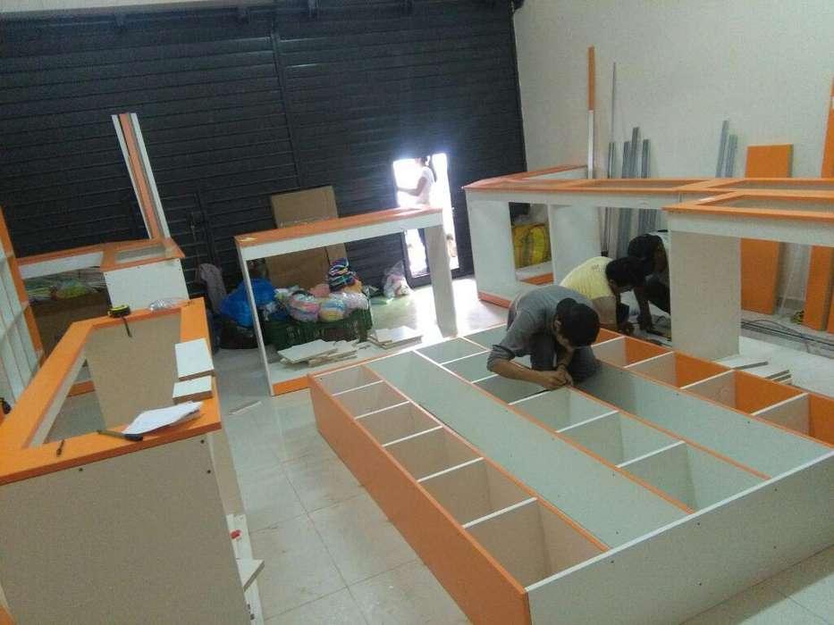 Drywall, Melamina, Acabados