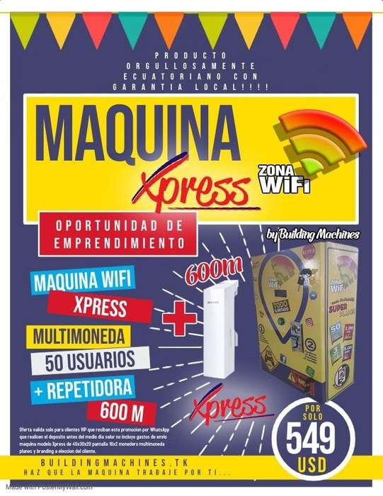 PRECIO DE LOCURA!!!!!Maquina Expendedora De Wifi Por MonedasAntena
