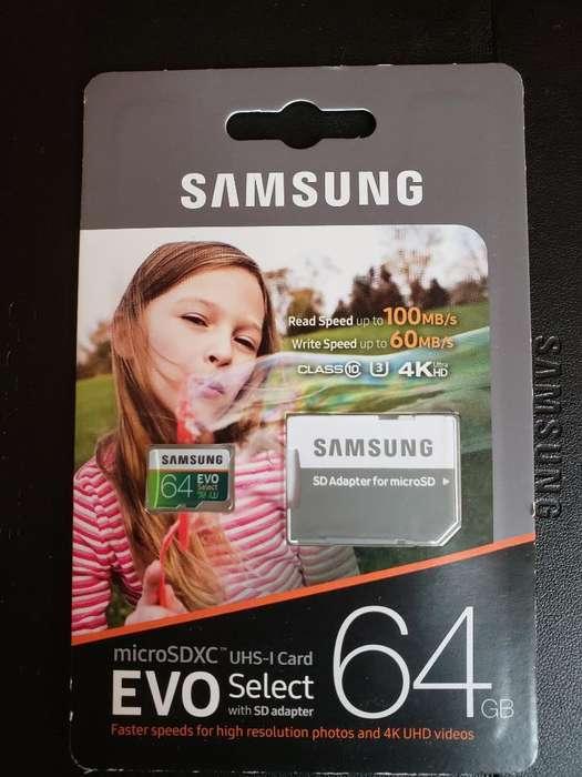 Memoria Microsdxc Evo 64gb Clase 10u3