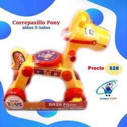 Correpasillo Pony para bebes niños juguete divertido
