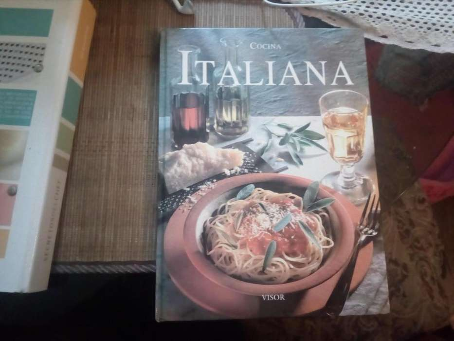 Cocina Italiana Exclusivo Tapa Dura