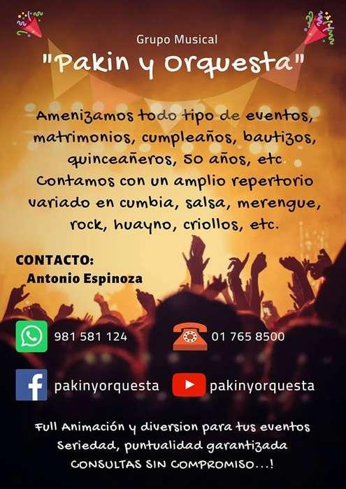 GRUPO MUSICAL PAKIN Y ORQUESTA-ORQUESTA DIGITAL