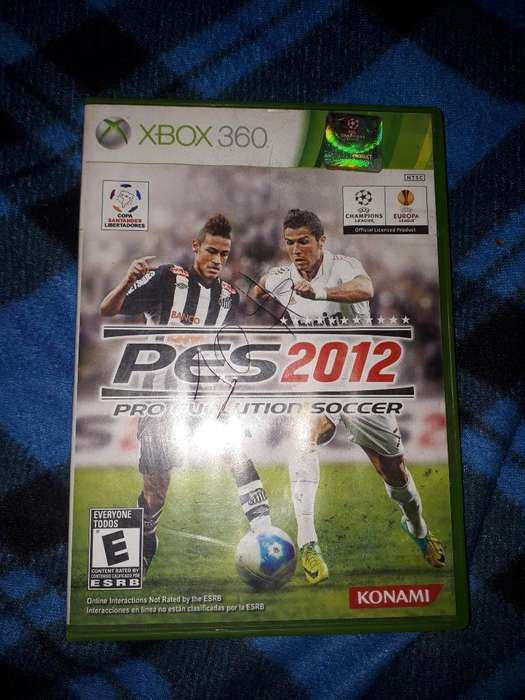 Juego Pes 2012 Xbox 360