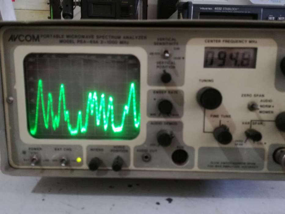 Analizador de Espectro 2mhz 1ghz