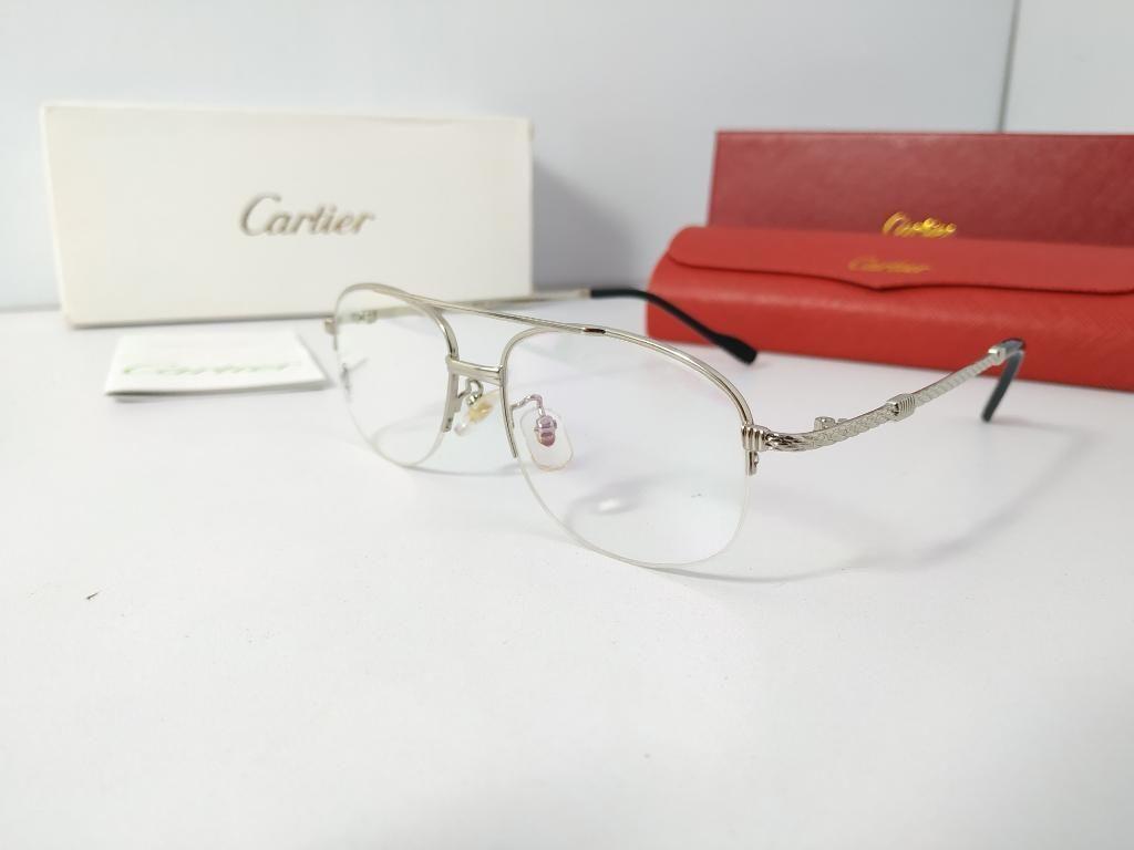 últimos lanzamientos compre los más vendidos código promocional Gafas Monturas Cartier Retro Lentes - Barranquilla
