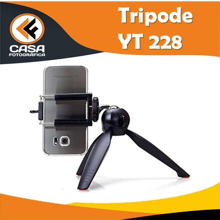 NUEVO!! Mini Trípode Yunteng Yt228 BLACK ideal para celular camara y gopro!!