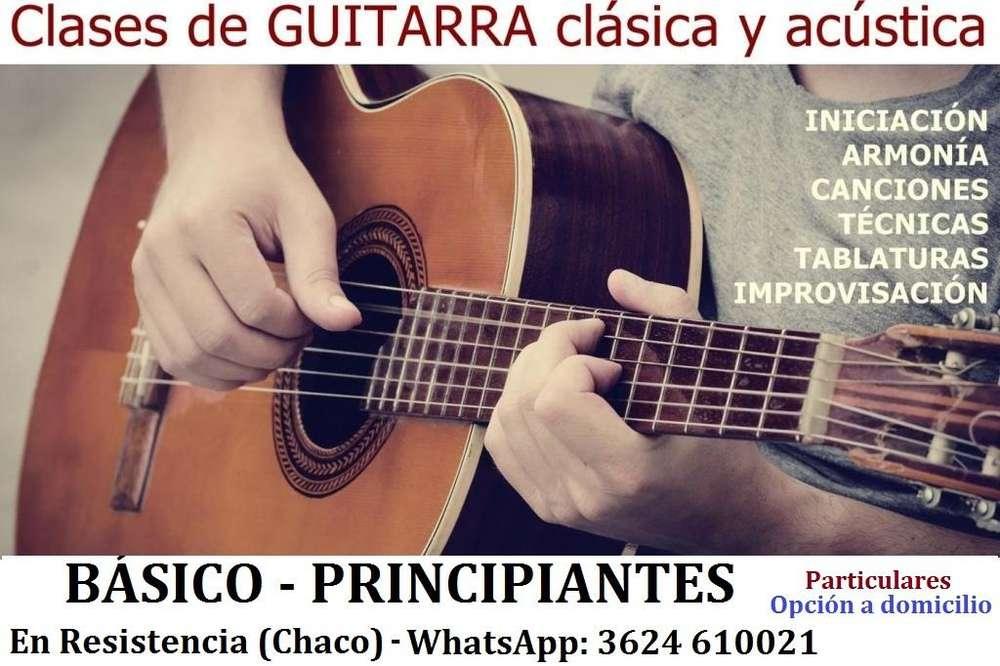 CLASES DE GUITARRA PRINCIPIANTES BASICO 120 la hora de clase