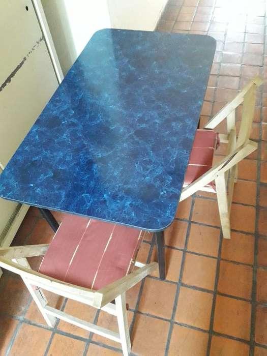 Mesa de Formica Estilo Vintage