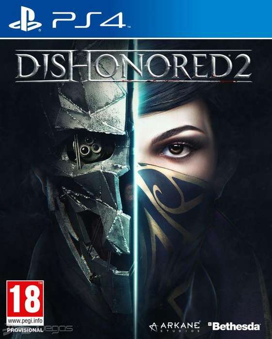 Dishonored 2 PS4 Nuevo