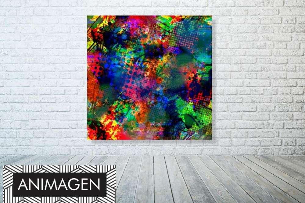 Cuadro decorativo abstracto 2090