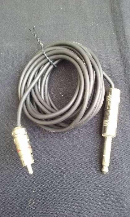Cable para <strong>karaoke</strong> de 2 metros y medio 10.000