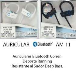 Auriculares Bluetooth Am-11