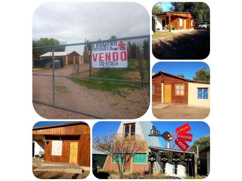 G Romero Propiedades Vende Terreno grande de 1.000 m2 con 4 Cabañas en excelente estado USD 128000