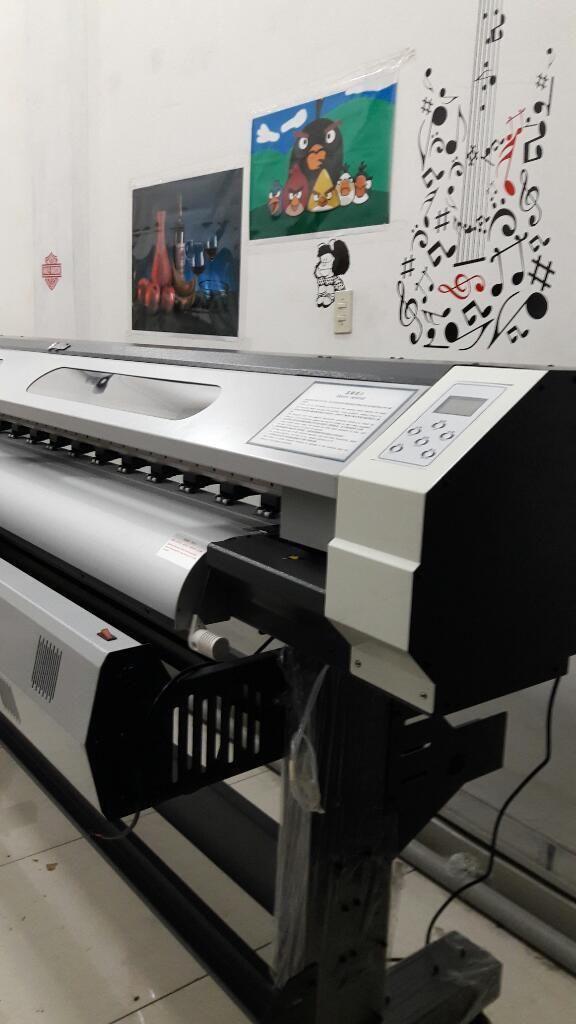 Impresora Gigantografia 1440 Dpi 1.80m Créditos Inmediatos