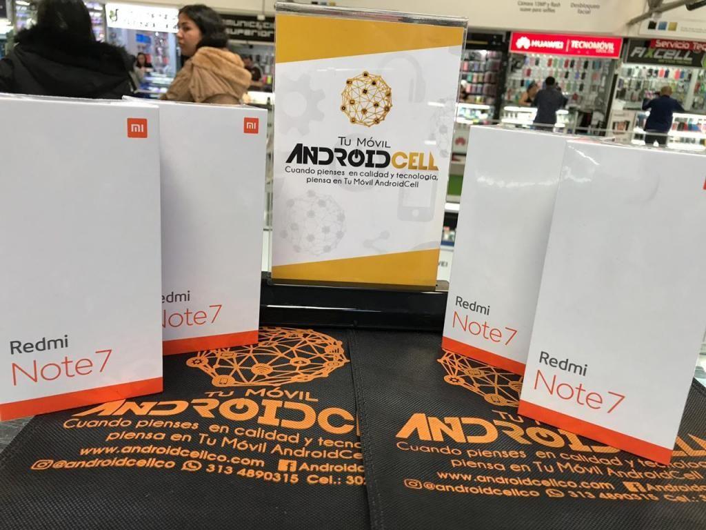 Xiaomi Note 7 de 128 GB - Nuevo, original y garantizado - Domicilio sin costo adicional en Bogotá.