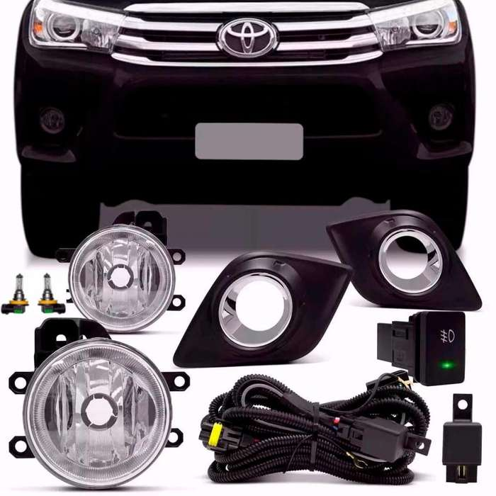 <strong>faros</strong> Auxiliares Toyota Hilux 2016 2017