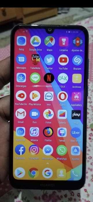 Huawei Y6 2019 32gb 2ram Huella 10/10