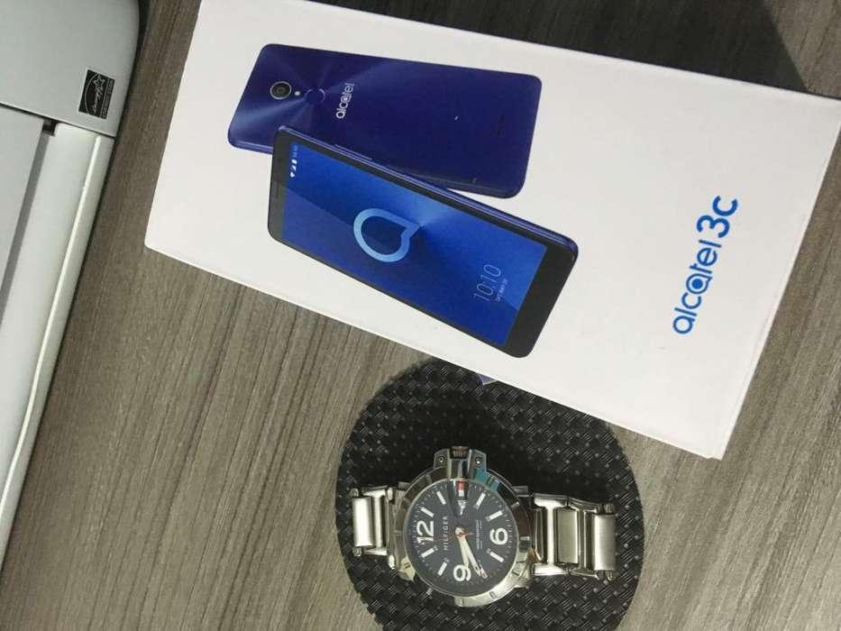 Combo celular Alcatel Reloj Tommy original