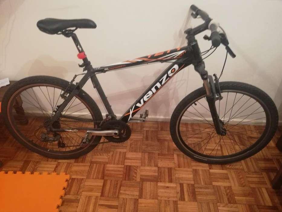 Bicicleta Venzo Yety Rodado 26 Talle M .