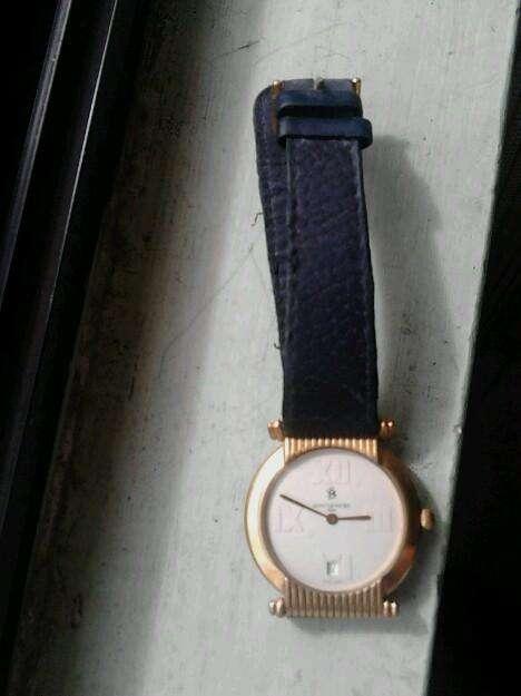 Reloj Bañado en <strong>oro</strong> de 18k Sandoz