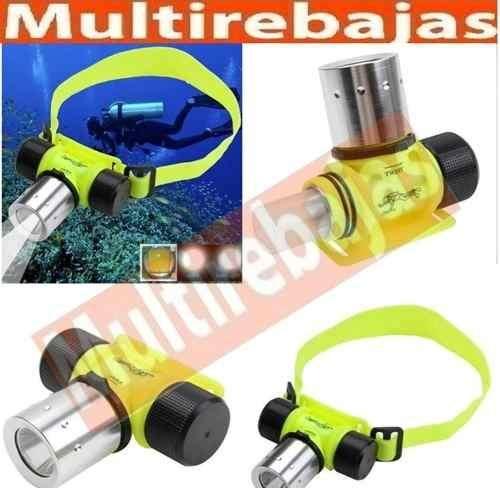 Linterna Led Para Cabeza De Buceo Sumergible Led <strong>pesca</strong>