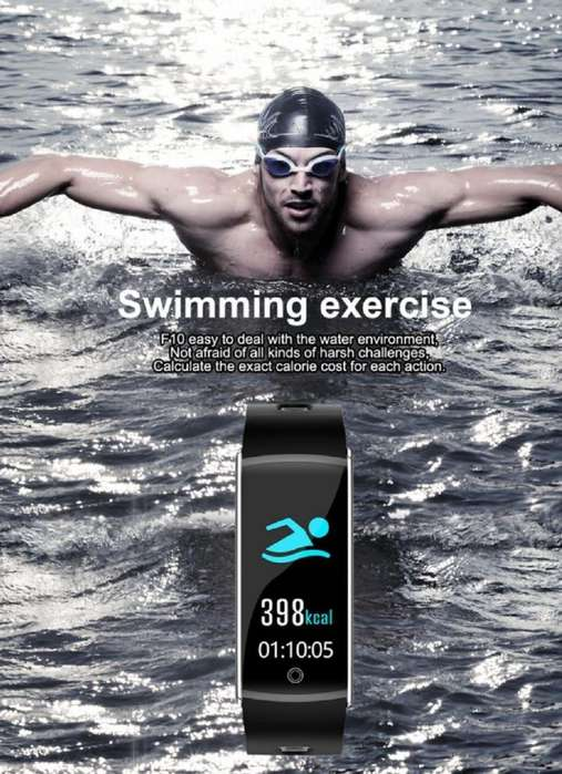 smartband smartwatch GPS reloj inteligente fitness sumergible