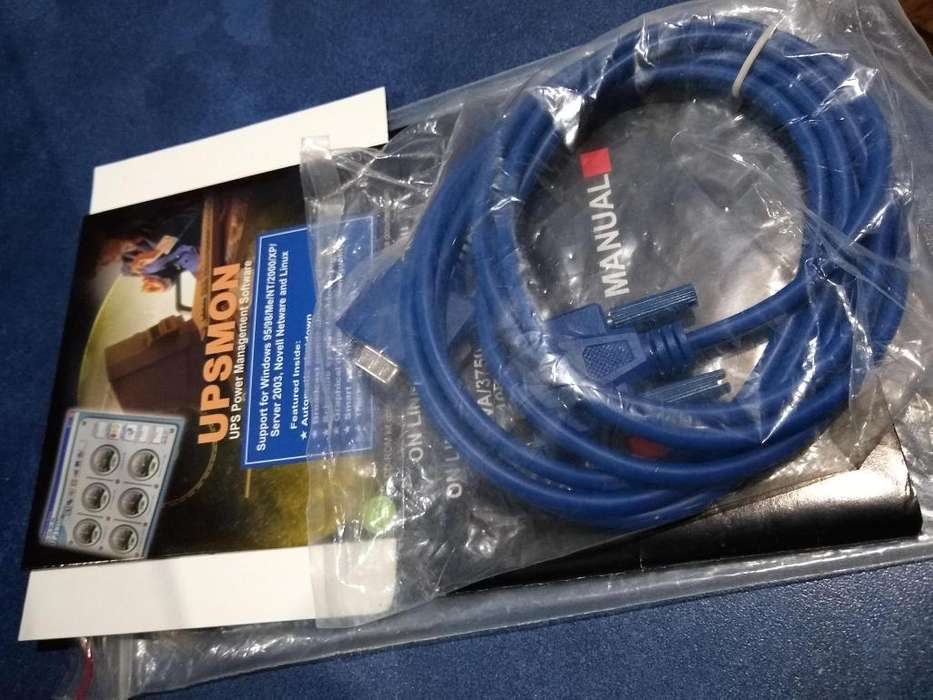 Cable VGA - De Hembra A Hembra - Color Gris y azul