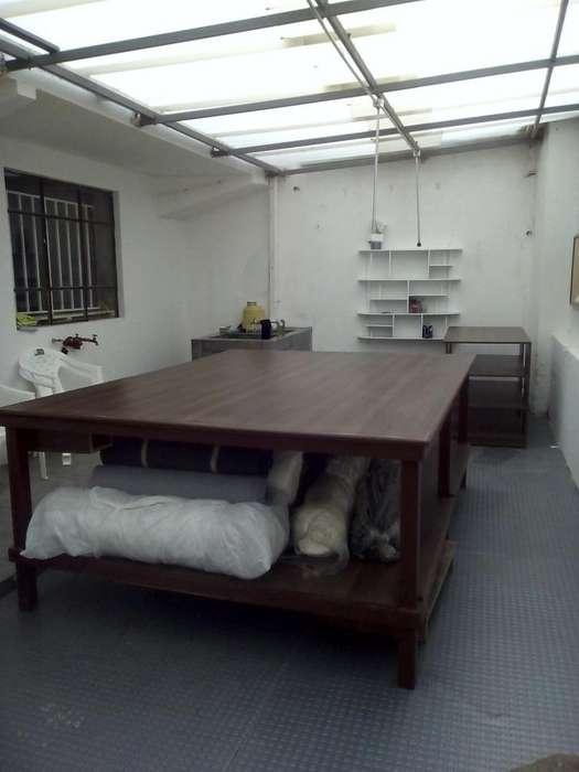 mesa de corte en madera