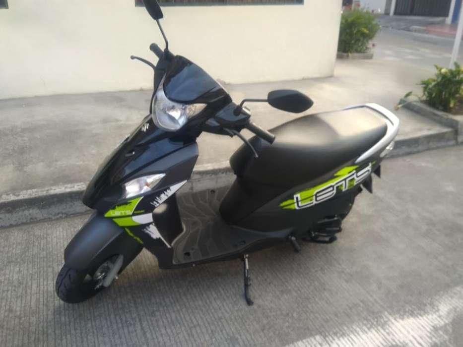Vendo Moto Automatica Susuki 100 Cc