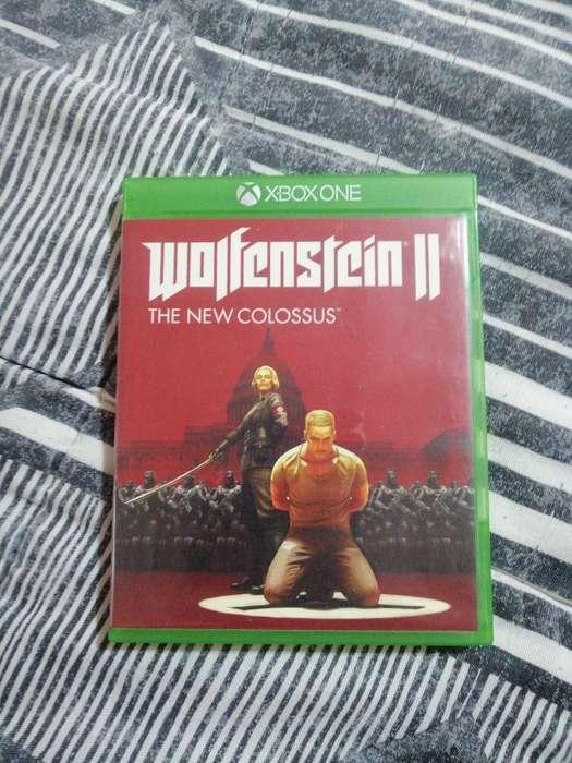 Vendo Wolfenstein 2 Xbox One