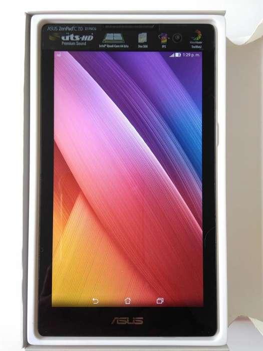 Tablet Doble SIM ASUS ZenPad de 7 pulgadas en caja como nueva