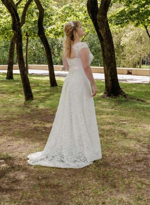 d1f8958294 Vendo vestido de novia velo (todo importado) usado 1 sola vez