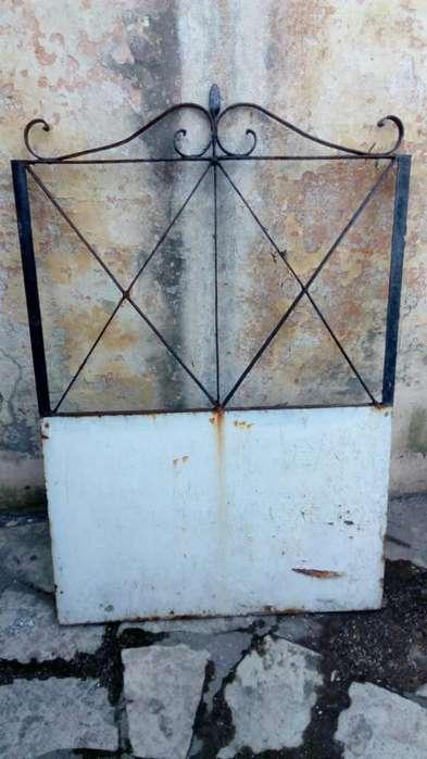 Puerta de Jardin Metálica para Restaurar