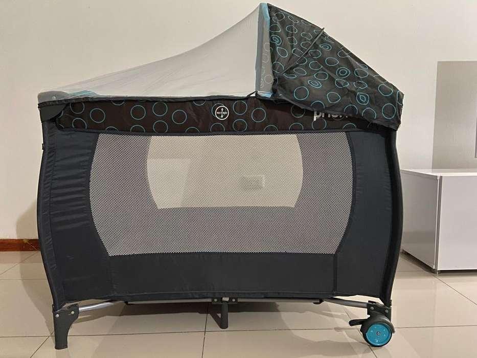 Corral mecedora Priori Pcu8000 azul
